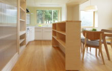 キッチン専用の収納コーナー