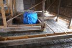 井戸周り改修の様子