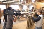 造作建具を制作する建具職人さんを撮影