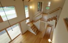 2階から見るフロア構成