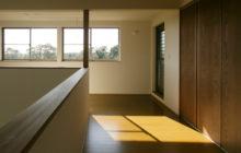 2階ホール 既存バルコニーを室内に改修