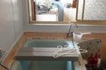 お風呂の窓から台所が見える現状