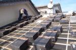 屋根瓦改修工事