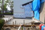 増築部分 基礎工事