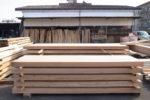 製材された材木