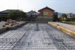 基礎鉄筋工事