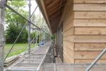 外壁仕上げ工事 杉板張り