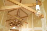 エントランスホール 照明器具設置