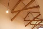 エントランスホールの天井