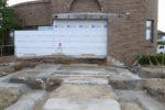 基礎工事 捨コンクリート敷き