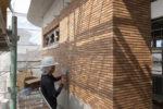 外壁仕上げタイル貼り工事