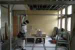 新規診察室 間仕切り設置工事