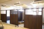 新設診察室 間仕切り設置工事