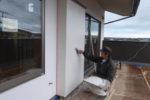 外装漆喰塗り工事