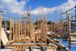 建て方工事 全景